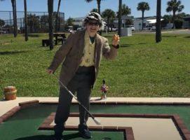 Goofy Golf Grabber