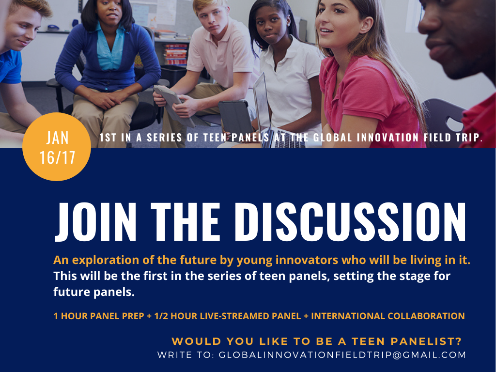 January Teen Panel Discussion2
