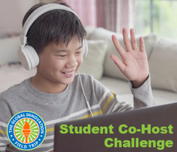 student co-host challenge