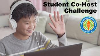 student co-host challenge landscape